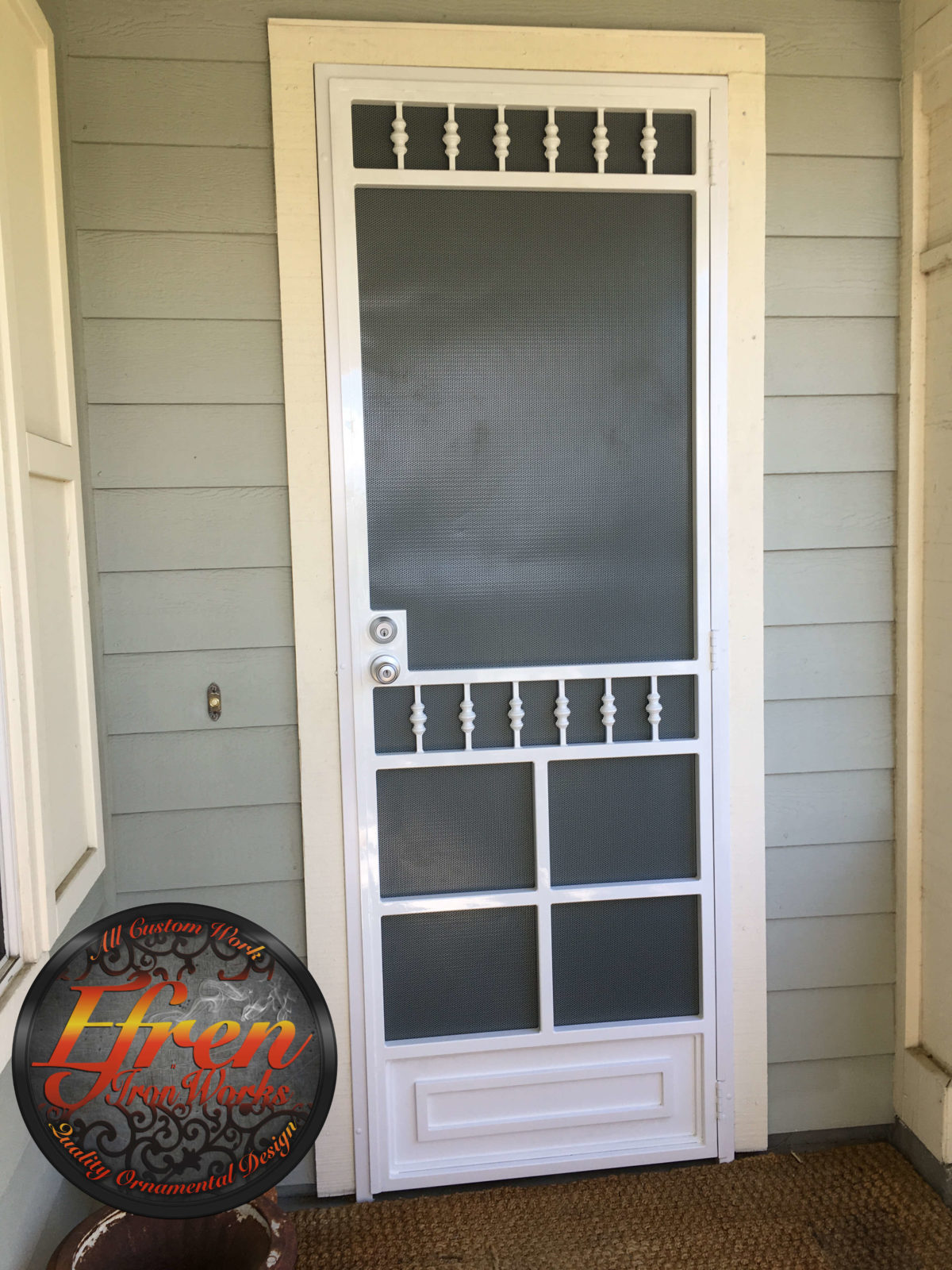 Country Screen Door Artistic Wrought Iron Works Inc
